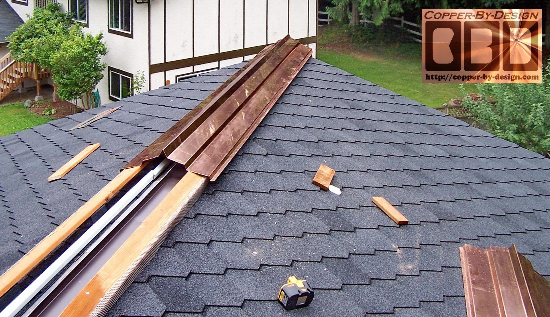 Copper ridge vent Metal roof vents, Metal roof, Metal