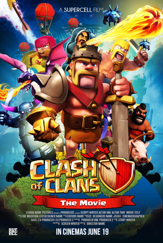 Super Clash of Clan Fait son cinéma   Seni, Fiksi ilmiah, Gambar EI-78
