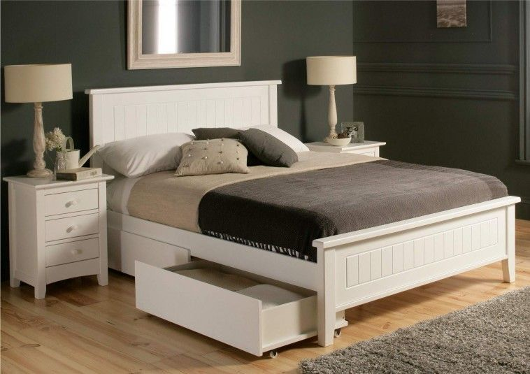 Pin By Aivareese On Bed Frames In 2020 White Bed Frame White