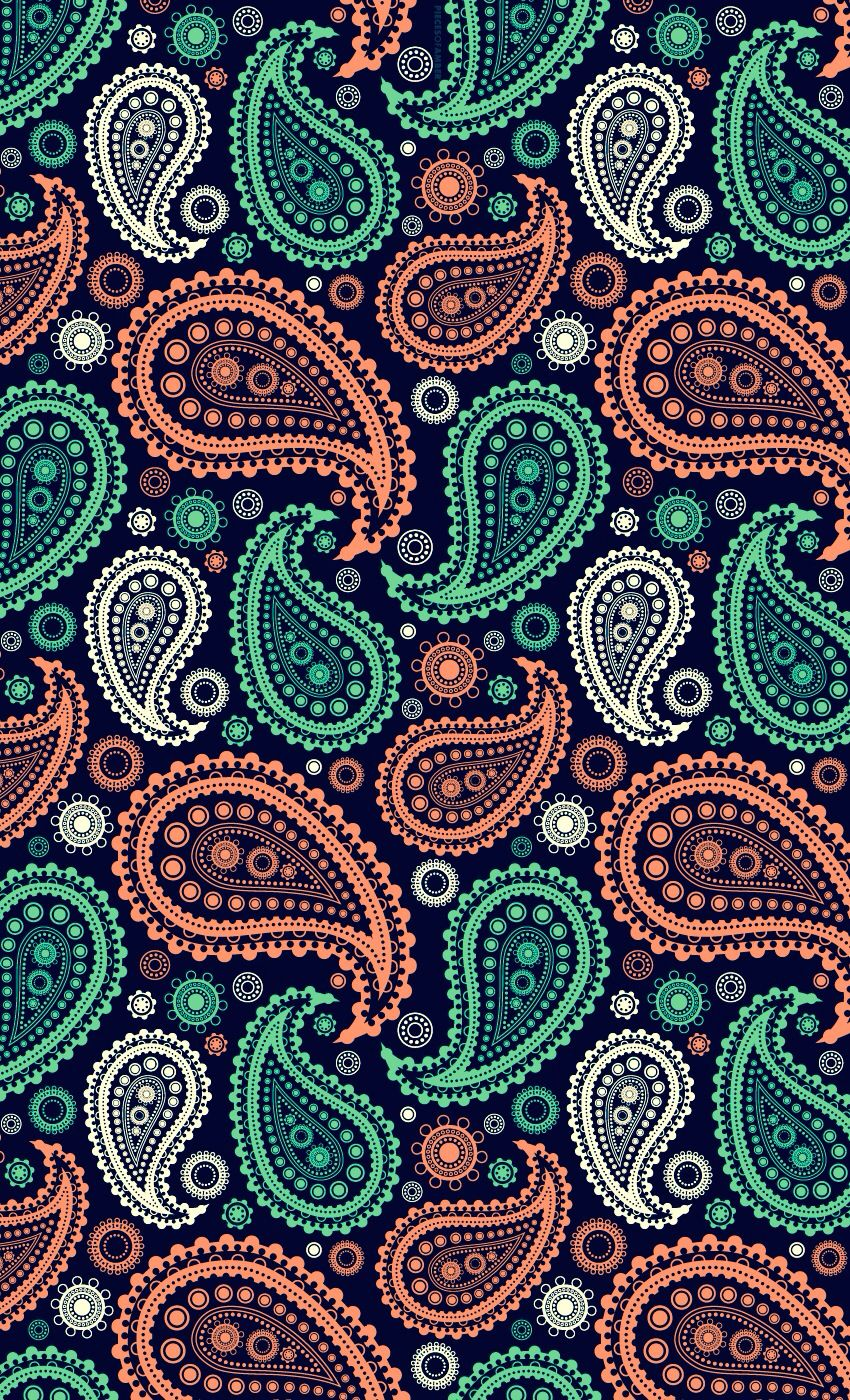 Some More Paisley Design That Is Used By Pretty Green Wallpaper Ponsel Gambar Seni