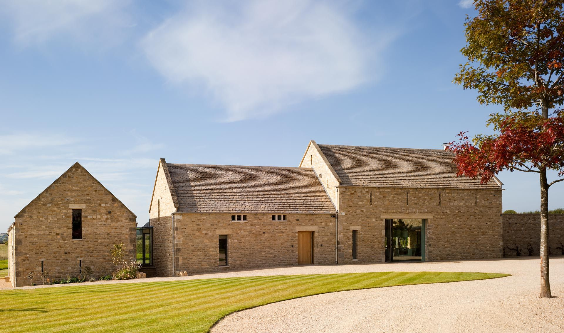 Converted Barn Homes Beautiful Old Stone Conversion In Cotswold By McLean Quinlan Architects