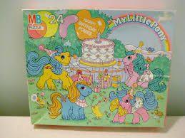 Résultats de recherche d'images pour «My Little Pony VINTAGE jigsaw puzzles»