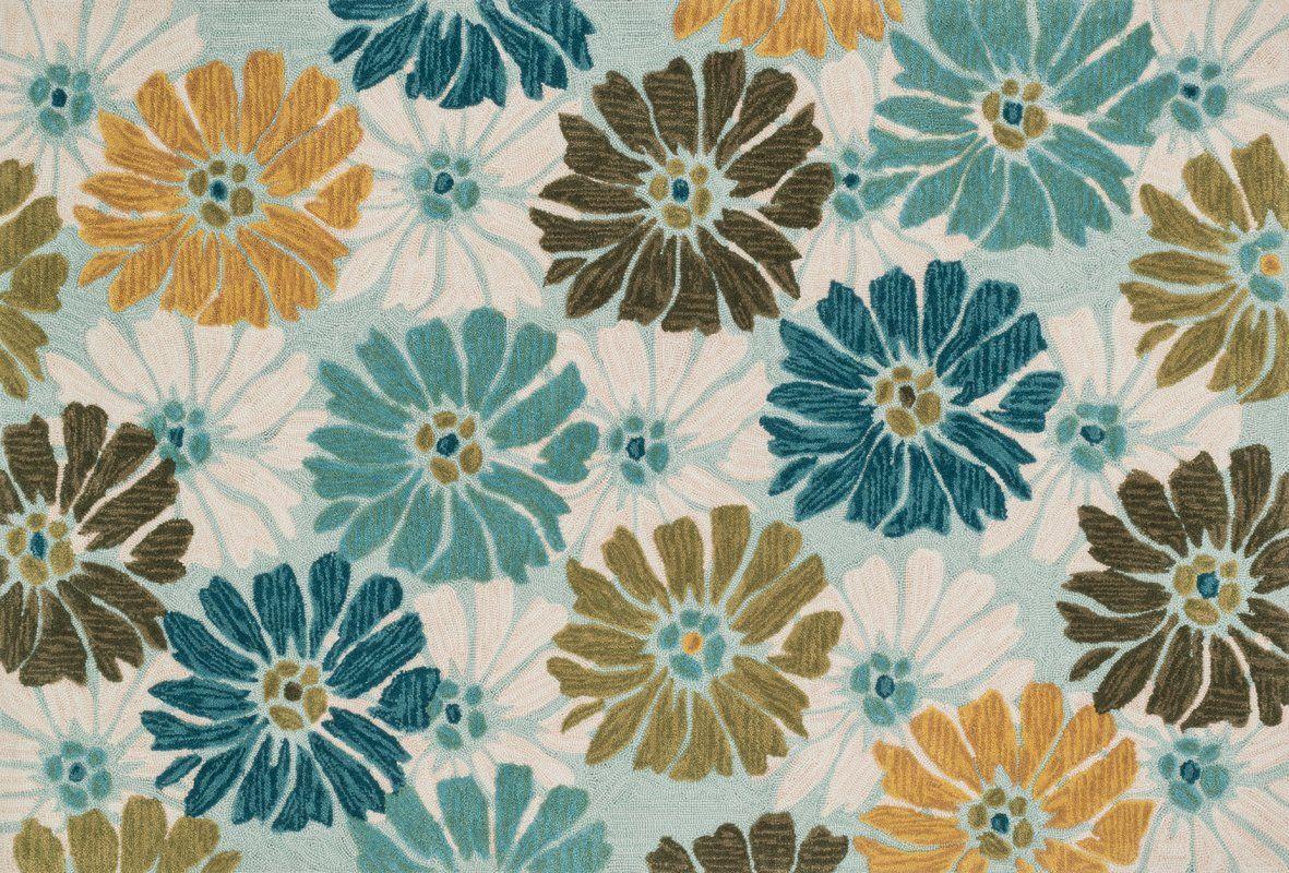 Gabriella Hand-Woven Blue/White Area Rug | kitchen - floor ...