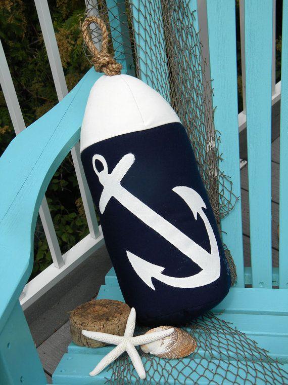 Buoy Bumper Indoor Outdoor Anchor Pillow Bumper By Crabbychris