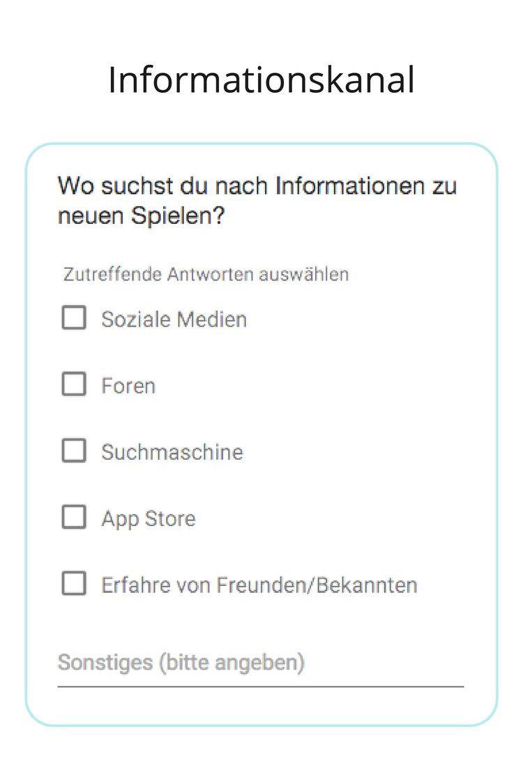 Gaming Use Case Games German