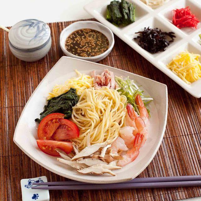 Hiyashi Chuka (Cold Ramen Noodles) | FOODjimoto