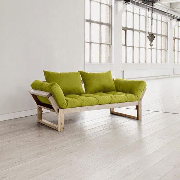 Div n cama edge verde pistacho muebles ecol gicos - Sofa verde pistacho ...
