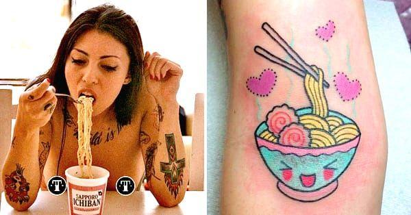15 Delicious Ramen Tattoos To Warm Those Tummies