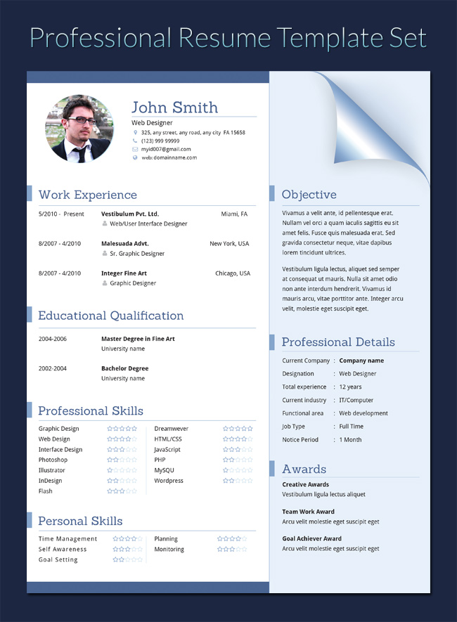 Cv Templates Docx Download 3 Templates Example Templates Example Cv Template Resume Template Resume Template Professional