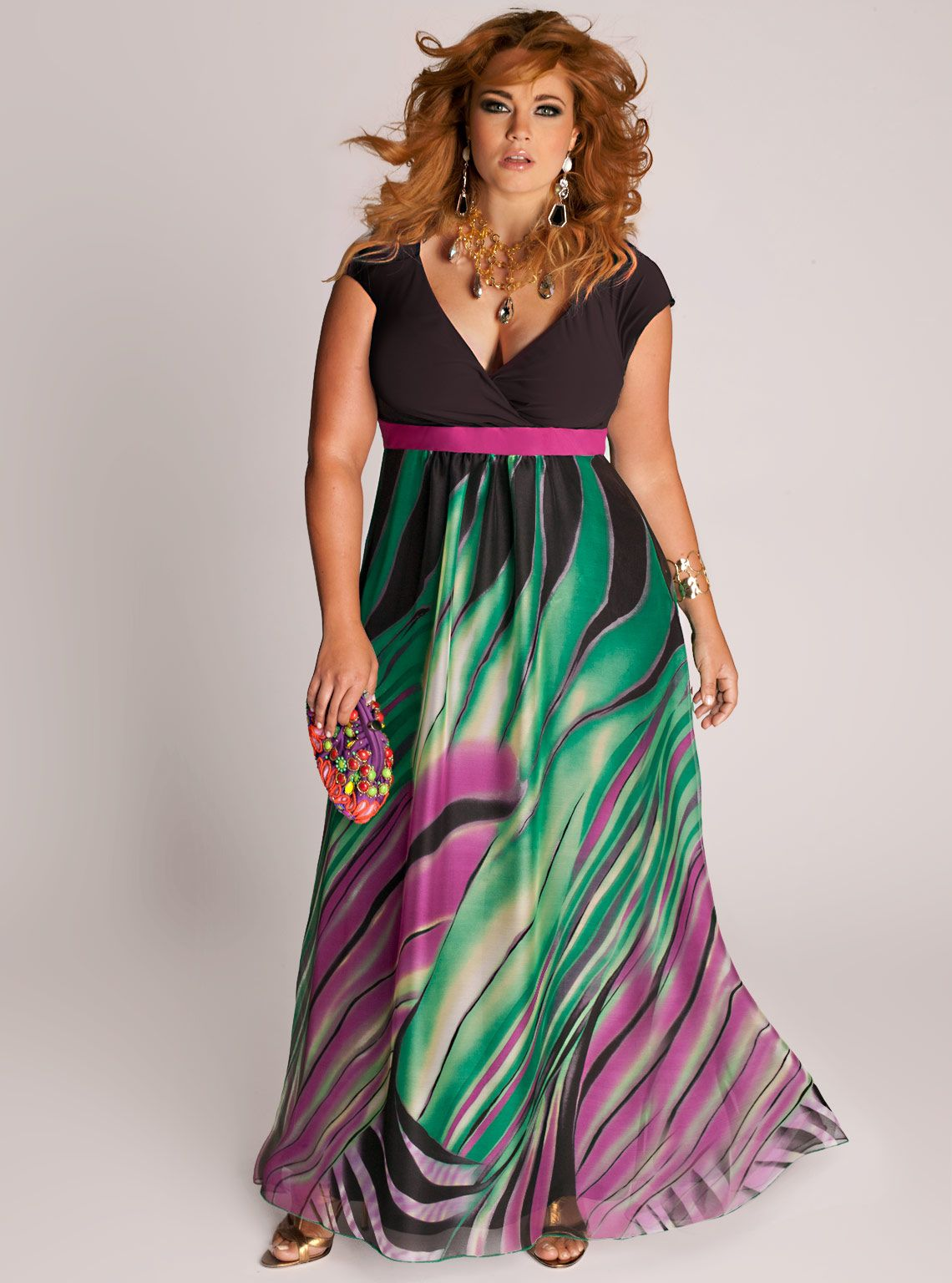 Rain Forest Maxi Dress- IGIGI | Curves Deserve Fashion | Pinterest ...