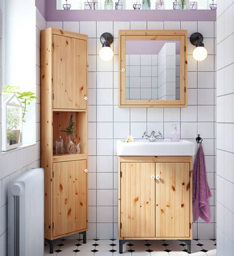 Silveran Solid Pine In Ikea S Bath Brochure 2015 Not The Typical
