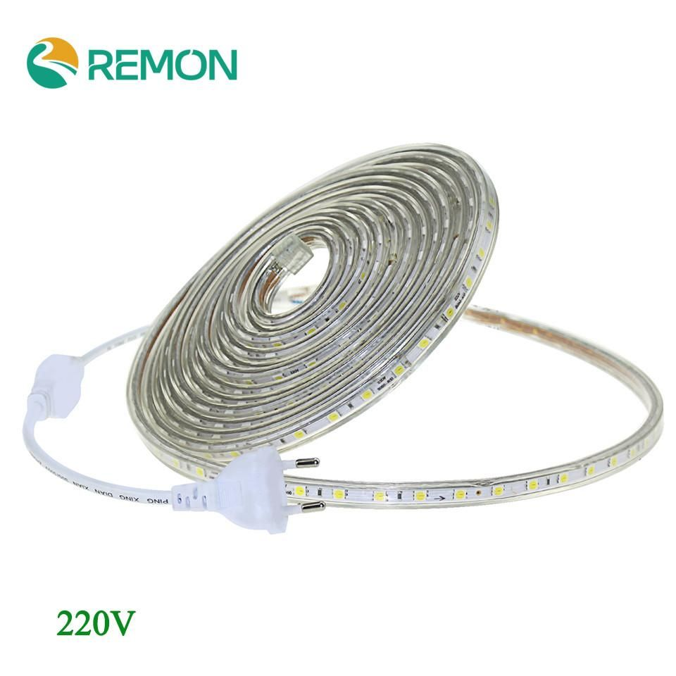 Led Strip 6m Ac 220v Led Strip Light Smd 5050 60leds M Ip67 Waterproof Led