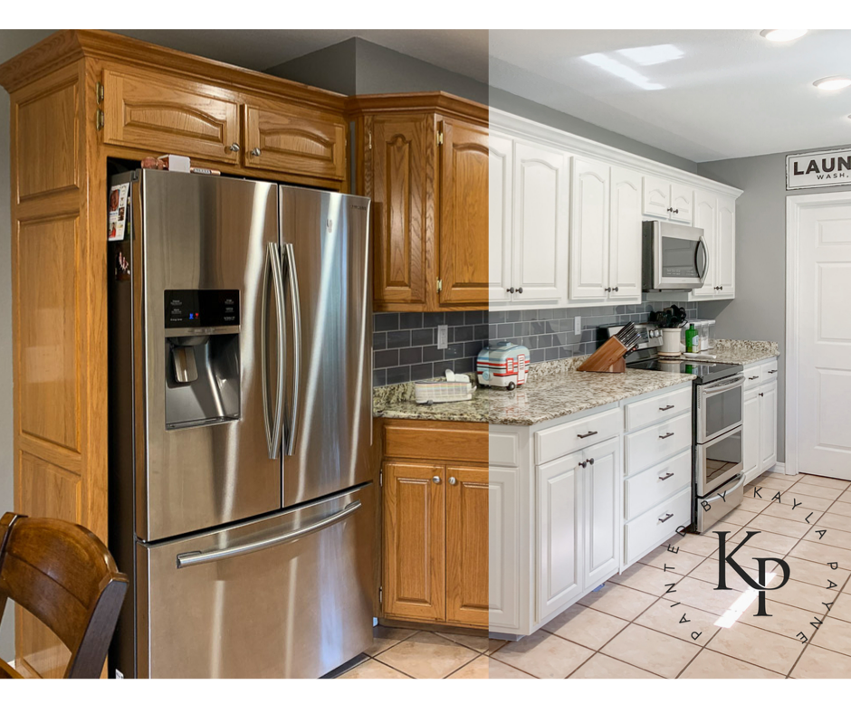How To Paint Your Cabinets Like A Pro Painting Cabinets Oak Kitchen Cabinets Kitchen Cabinets