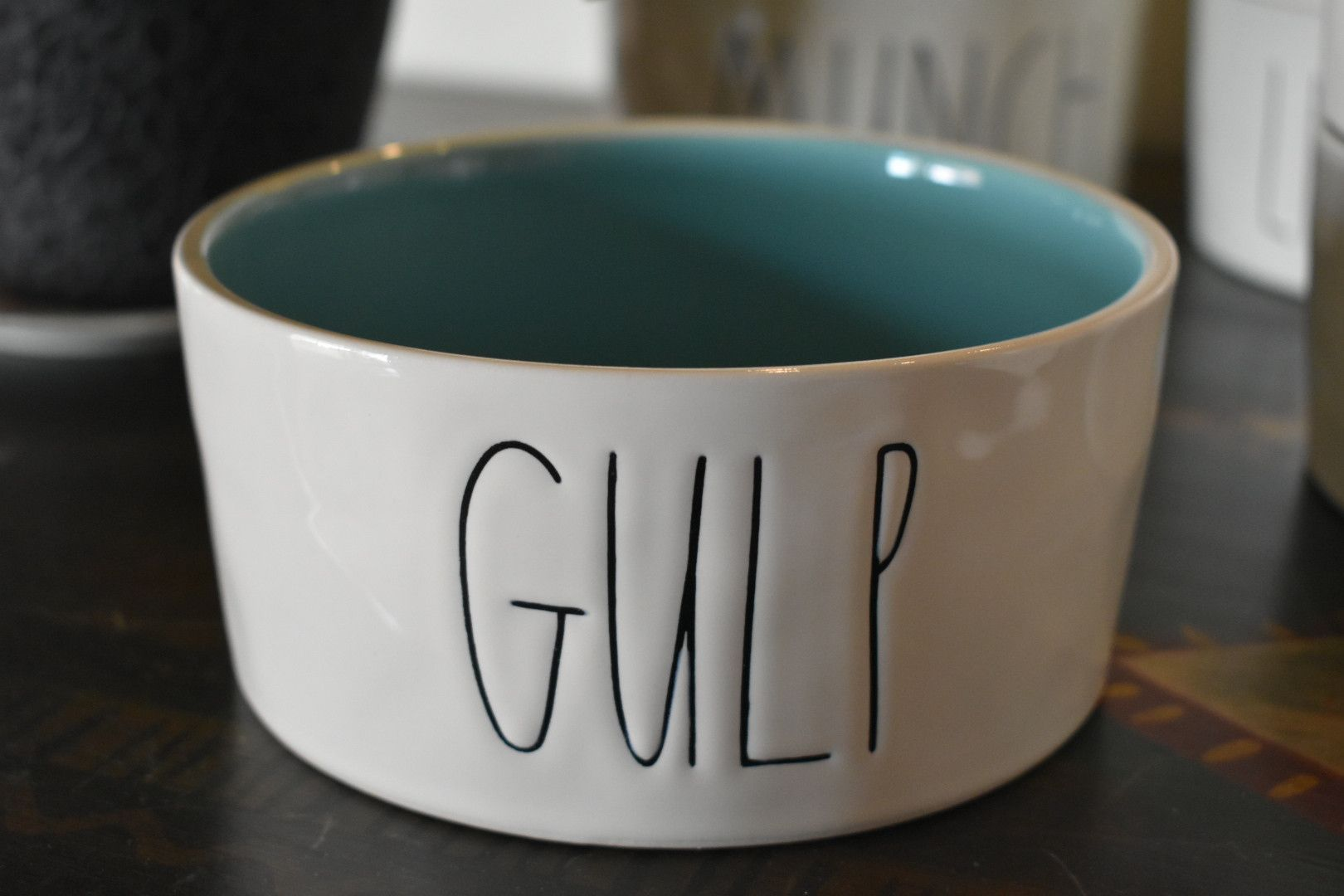 Gulp Pet Bowl by Rae Dunn