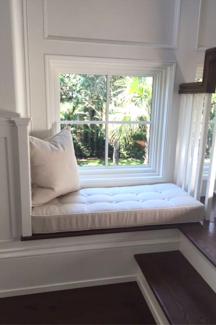 A Little Reading Nook Customer Photo Window Seat Cushions Window Seat Home