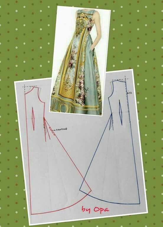 Long dress pattern   kaftan abayas   Pinterest
