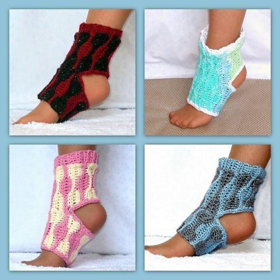 Instant Download Crochet Pattern Yoga Socks PDF 13 von Genevive ...