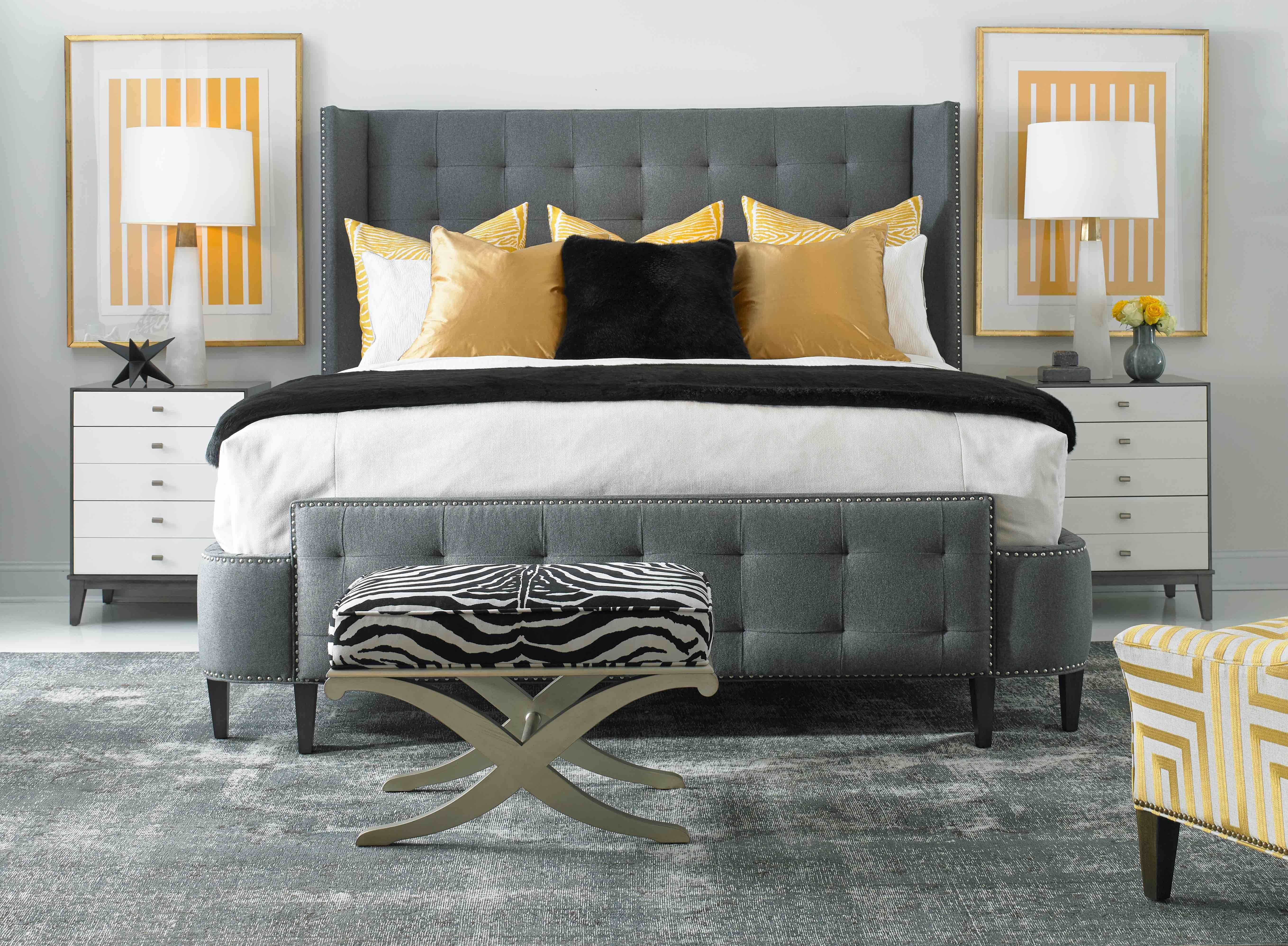 Our luxury, designer Upholstered, Wood and Poster beds are