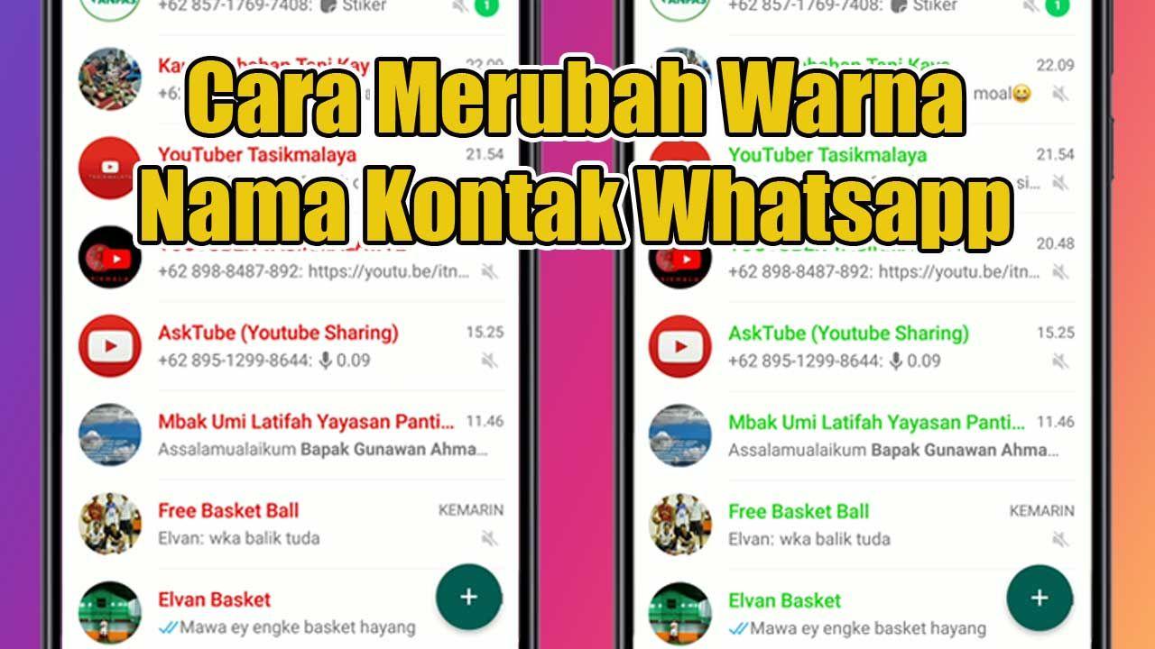 whatsapp,cara,tutorial whatsapp,gunawan ahmad, di 2020 (Dengan gambar)