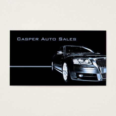 Used Car Dealer Business Card Zazzle Com Used Car Dealer Car Dealer Small Luxury Cars