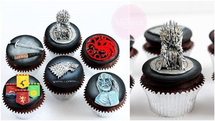 Game Of Thrones Cupcakes Game Of Thrones Birthday Cake Game Of