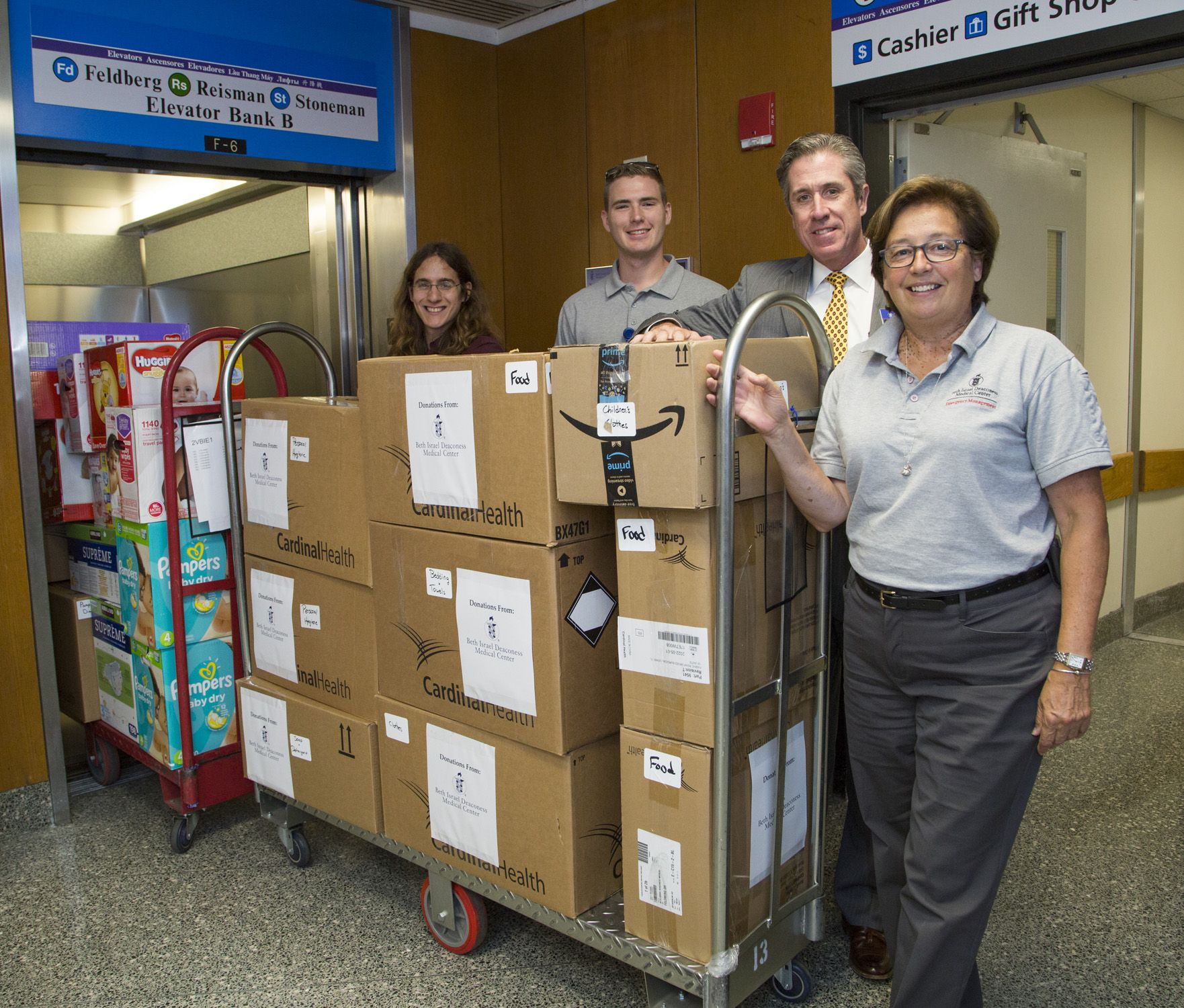 A Big Thanks To Everyone At Bidmc Who Pitched In To Help Contribute Hundreds Of Items In Less Than 48 Hours To The Cit Emergency Management Emergency Gift Shop