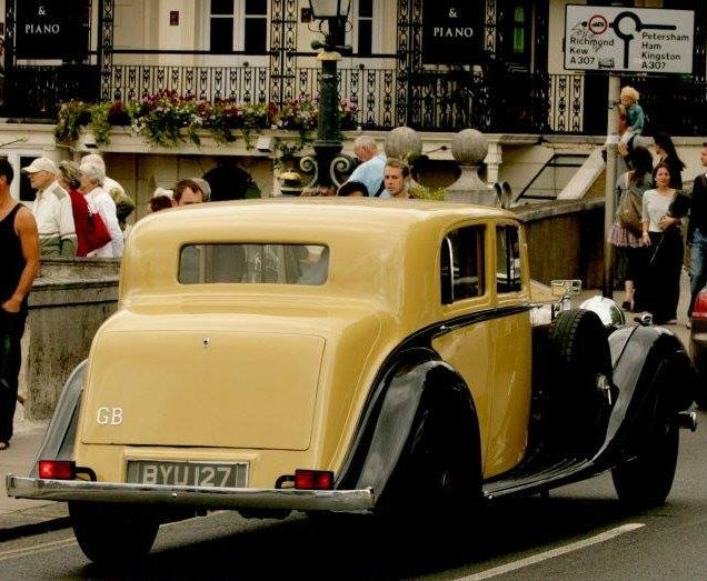 1935 Saloon by H.J. Mulliner (chassis 40UK, body 4254) for Capt. Woolf Barnato