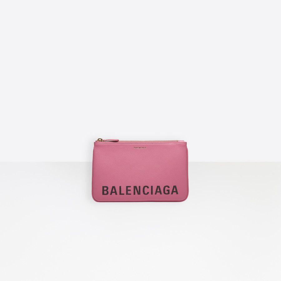 Ville Pouch M Bougainvillier Balenciaga Women Handbags Fashion Bags