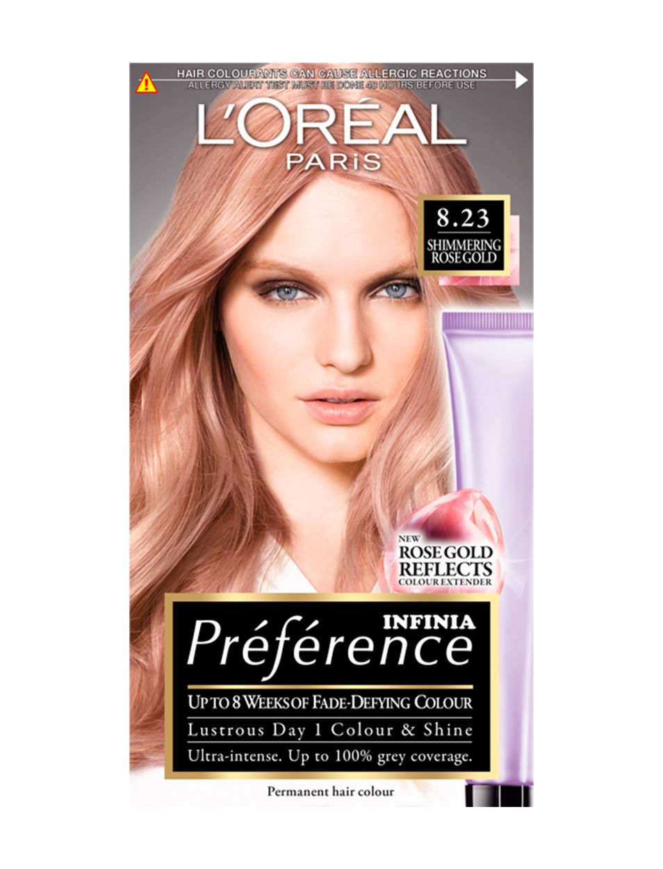 Prfrence Infinia Shimmering Rose Gold New Hair For Me