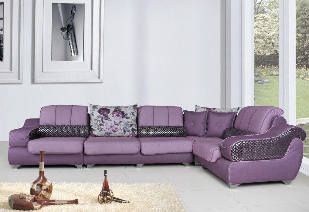 Purple Sofa Set!