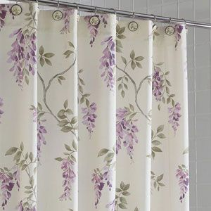 Short Description Wisteria Shower Curtain 100 Cotton Available In
