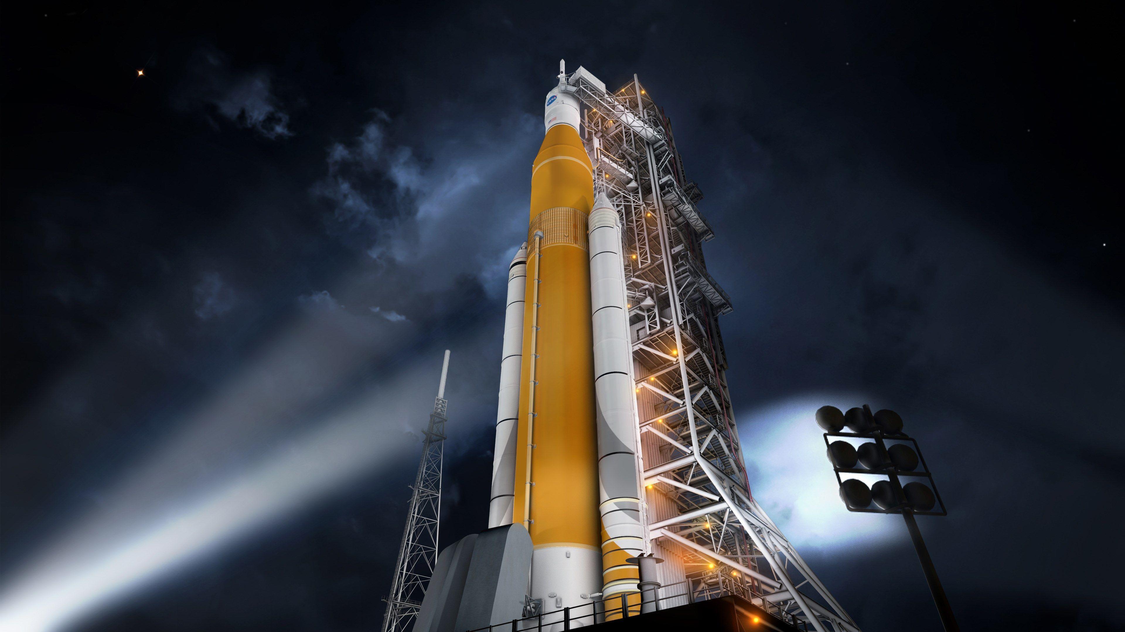 3840x2160 nasa space launch system 4k ultra hd desktop