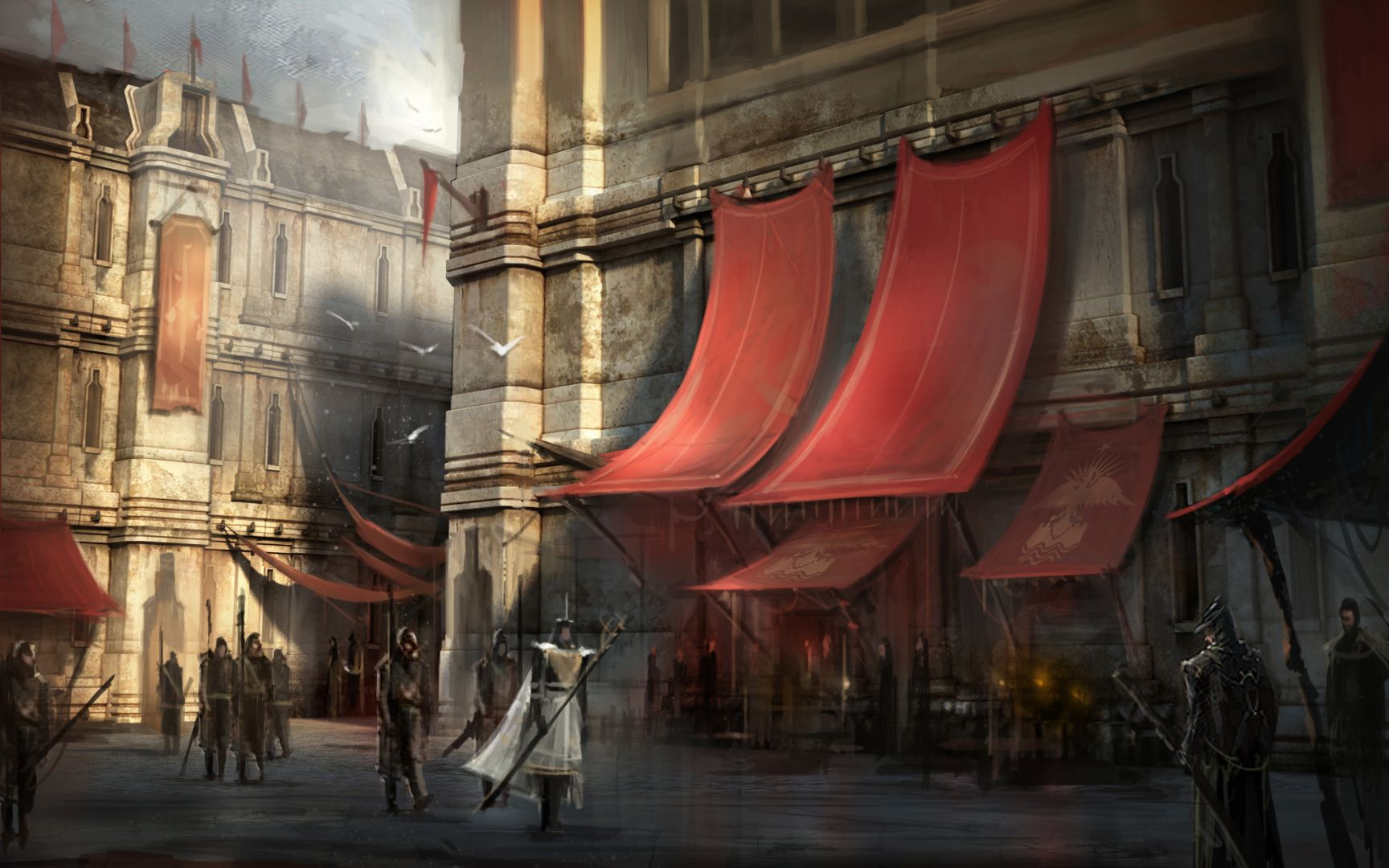 Dragon Age Concept Art Hightown Dragon age, Dragon age