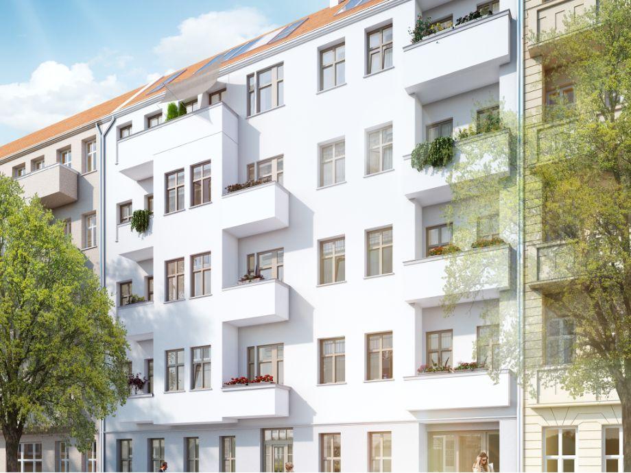 Fassade nach Sanierung. immobilien berlin (mit Bildern