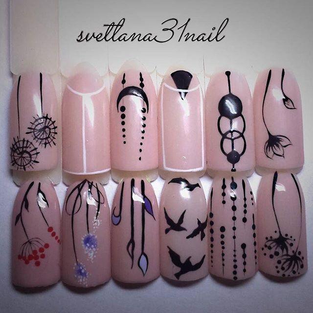 Дизайн ногтей минимализм фото