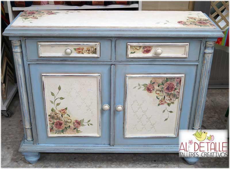 Reciclado de muebles muebles de entrada polilla y lo tienes for Muebles restaurados vintage