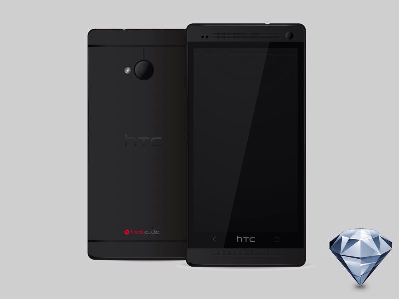 HTC One: Black Edition - by Lino Di Maio | #ui
