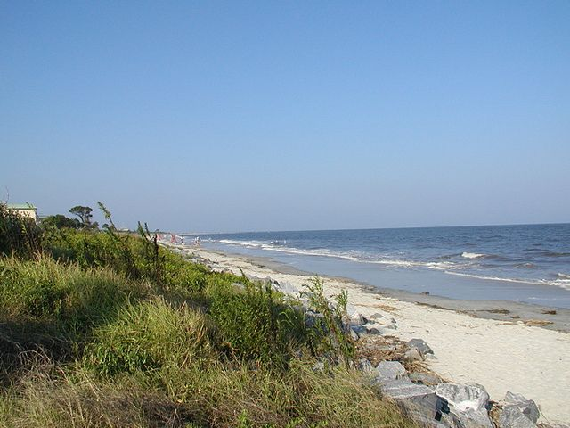 Beach On St Simons Island With Images