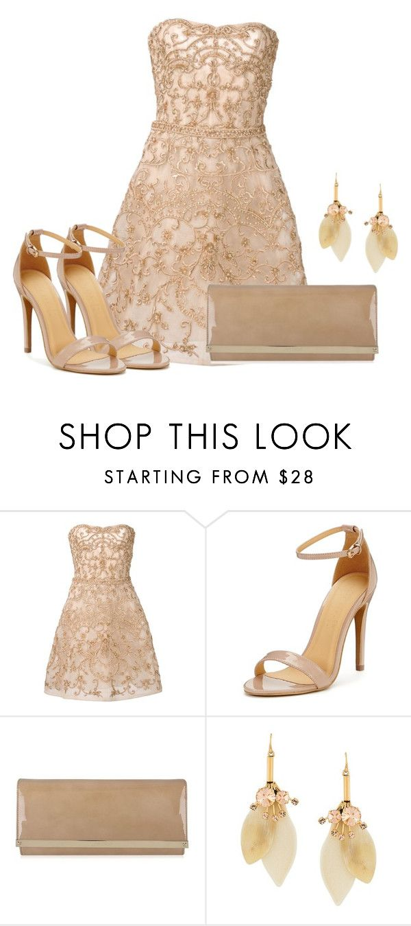 """""""Untitled #3352"""" by janicemckay ❤ liked on Polyvore featuring Monique Lhuillier, Jimmy Choo and Marni"""