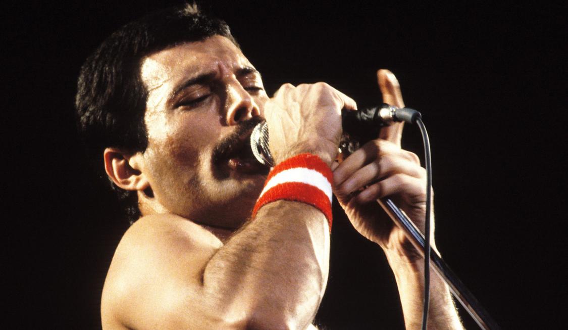 Freddie Mercury biopic with Sacha Baron Cohen.