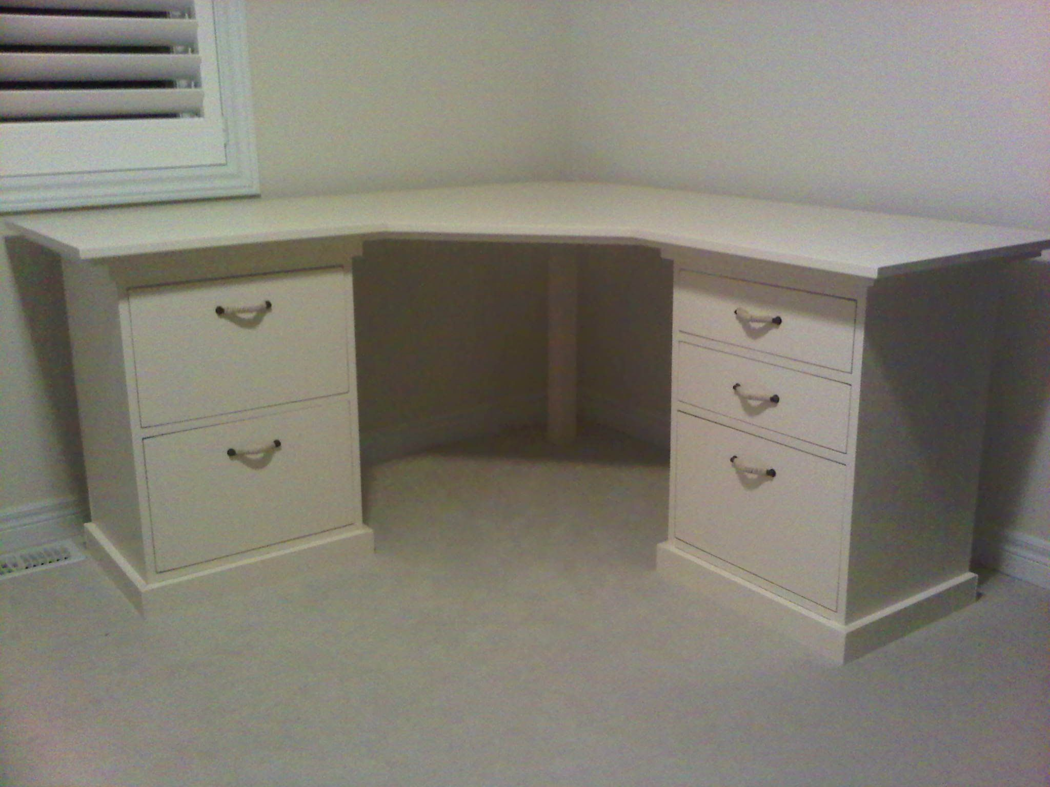 drawers images hon drawer of with hanging hutch corner desk and