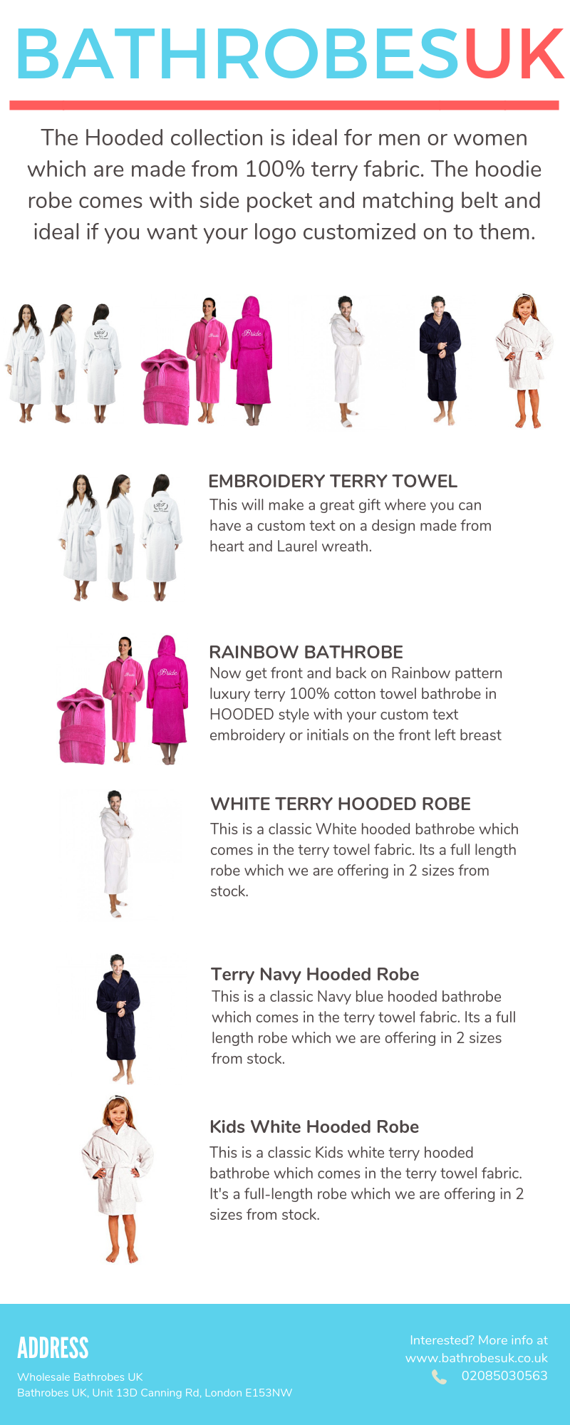 Here we offer an ample collection of personalized bathrobes f97303921