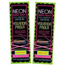 Resultado de imagen para invitaciones neon gratis
