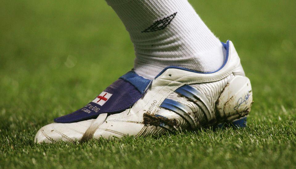 David Beckham S Career In Football Boots Soccerbible Football Boots Beckham Adidas Football
