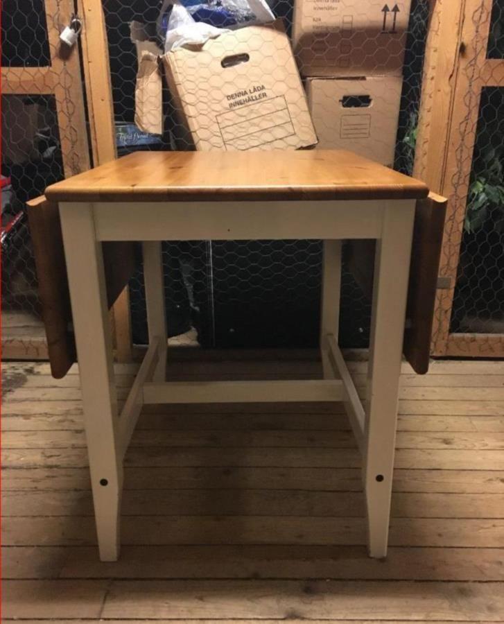 Bortskänkes IKEA Leksvik matbord (klaffbord) | Vintage/Traditional ...
