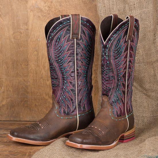 de5a578d26f8 Ariat Sunset Purple Vaquera Boot