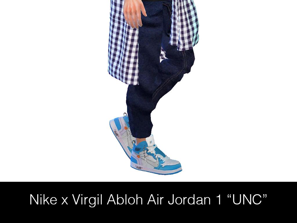 Streetwear for Sims 4 HypeSim – NIKE x VIRGIL ABLOH AIR