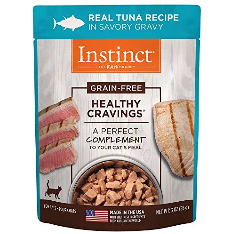 Instinct healthy cravings grain free real tuna recipe