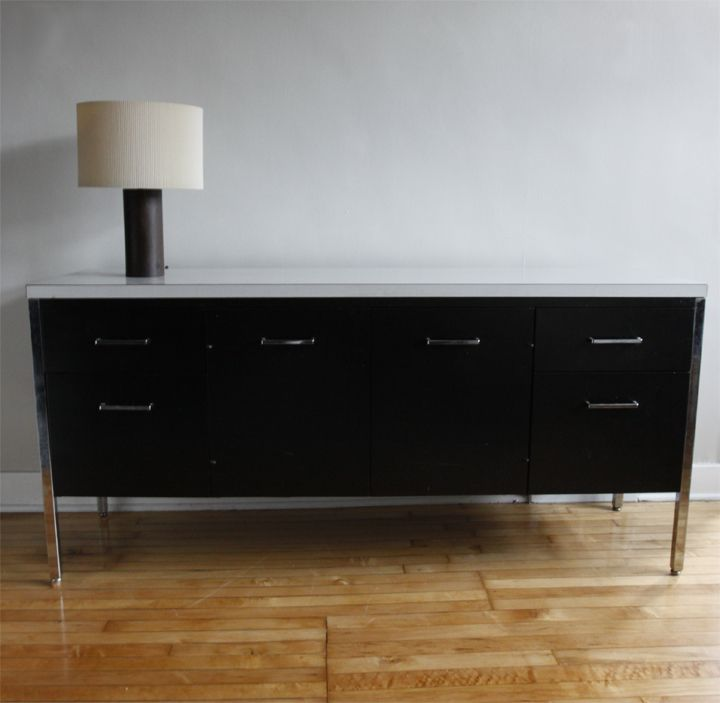 Allsteel Black Credenza Need To Find