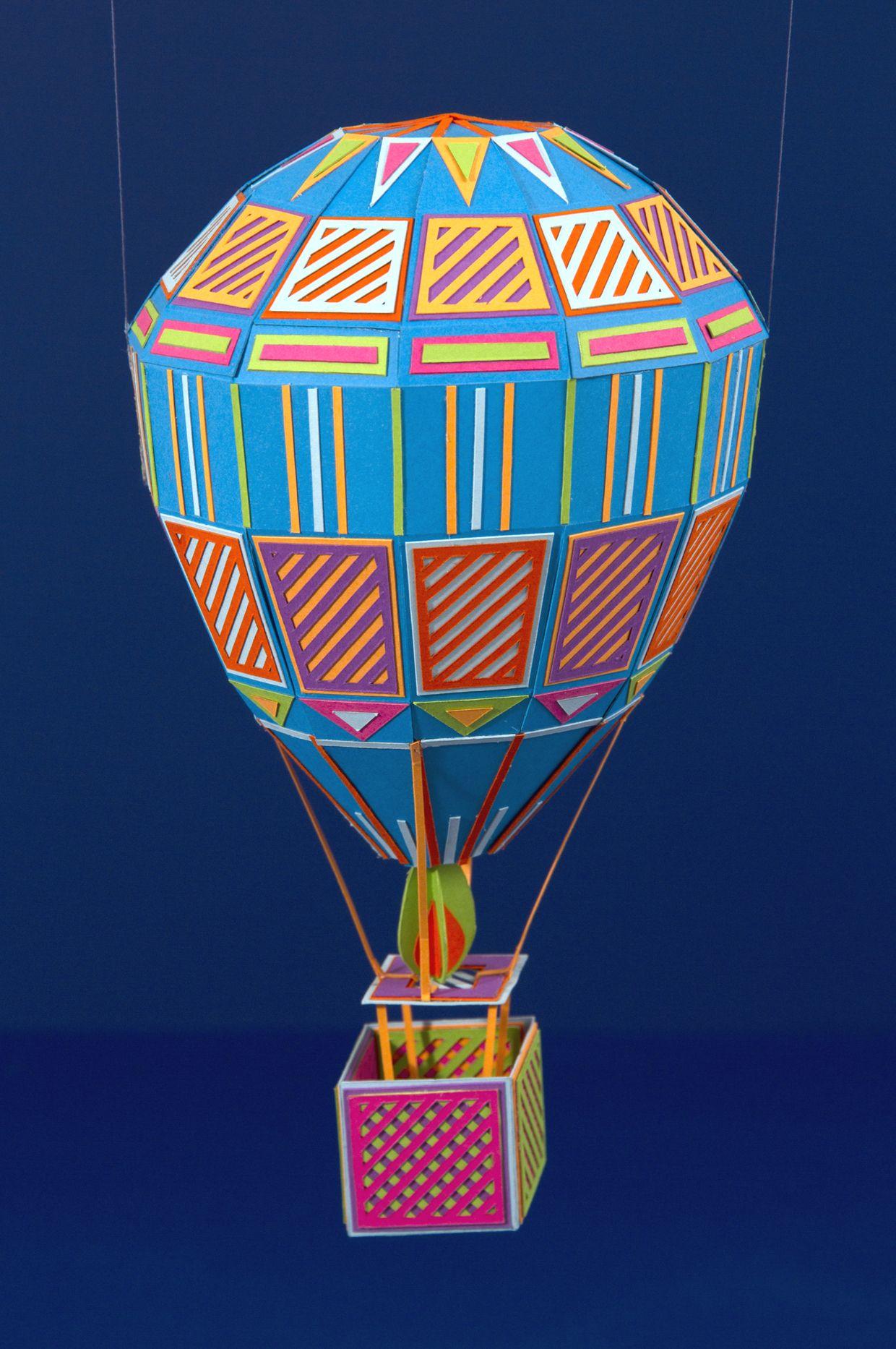 air balloon by zim & zou